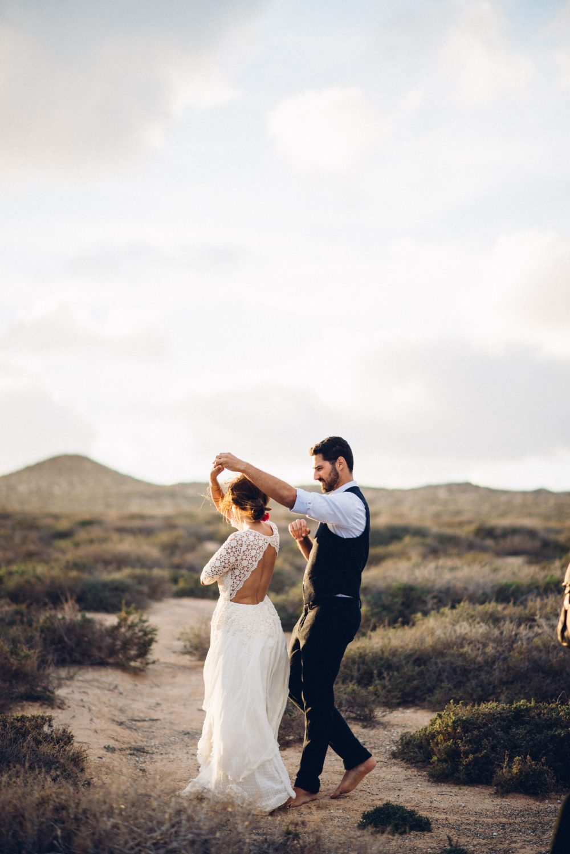 La Graciosa Gran Carina, Canary Island Destination Wedding Photographer