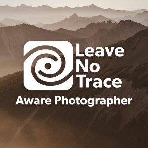 leave no trace aware photographer