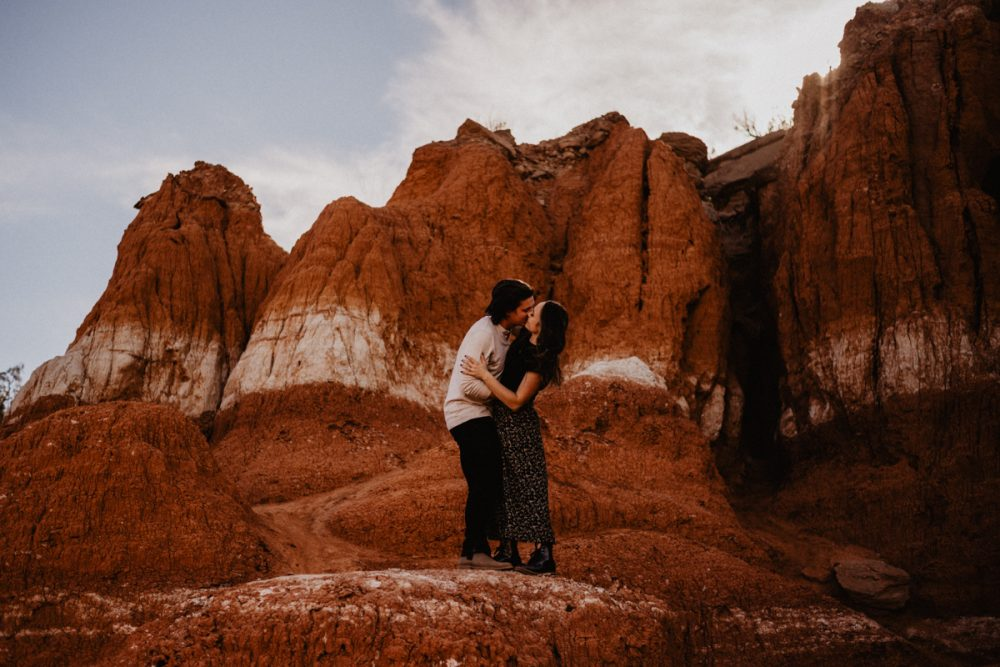 Palo Duro Canyon Engagement by Adventure Elopement and Austin Wedding Photographer