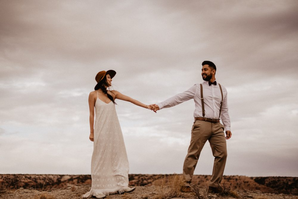 Palo Duro Canyon Elopement by Adventure Elopement and Austin Wedding Photographer