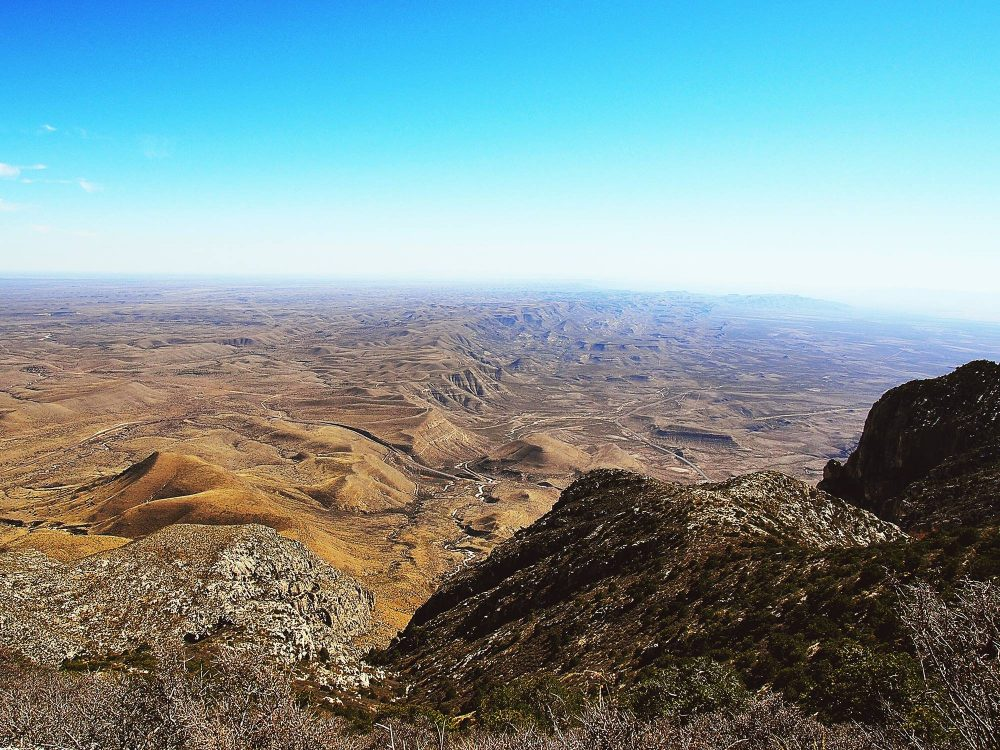 guadalupe mountains elopement elope in Texas